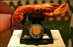 Salvador Dalí (1936) Teléfono-langosta