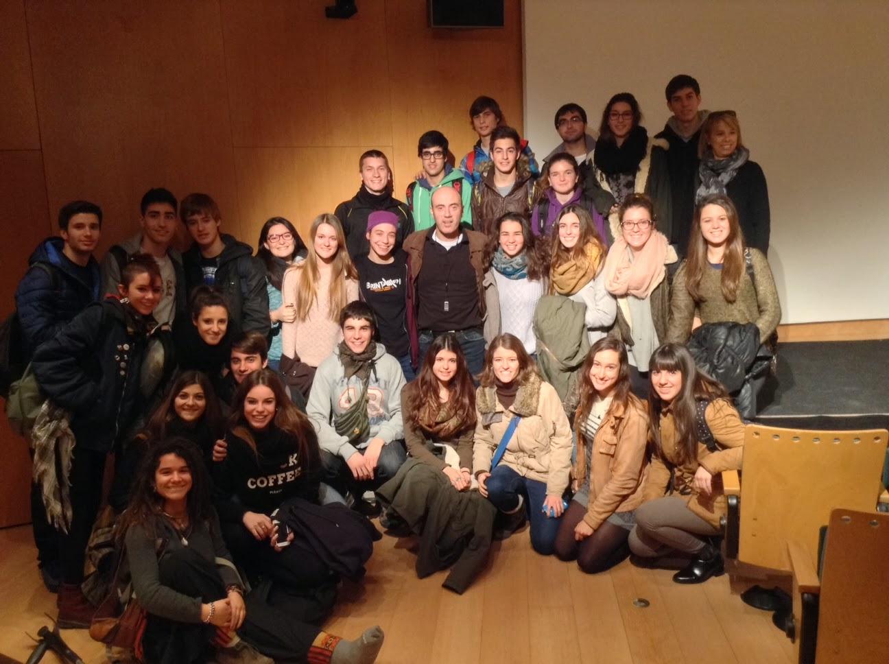 Conferència de Tomàs Molina 2013-14