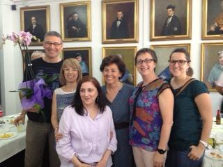 Comiat Carmen (jubilació) curs 2012-13