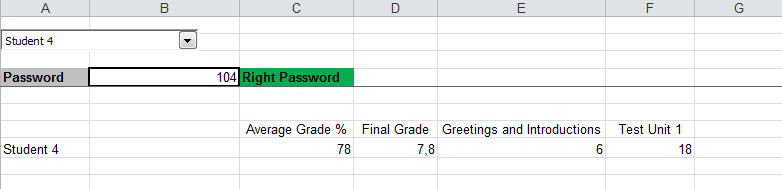 Gradebook 3 right password