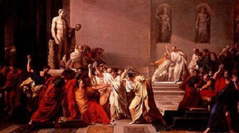 Assassinat de Juli Cèsar, encapçalat pels senadors Romans