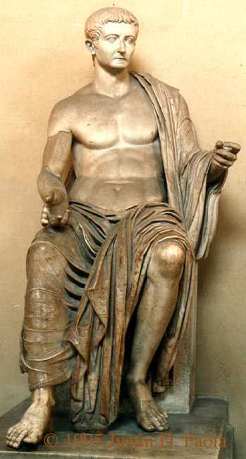 Escultura de Tiberi