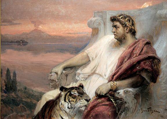 Representació de la època moderna sobre Tiberi