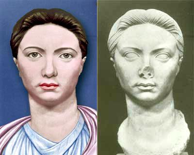 Possible aspecte de Vipsània Agripina a través de la reconstrucció d'una escultura