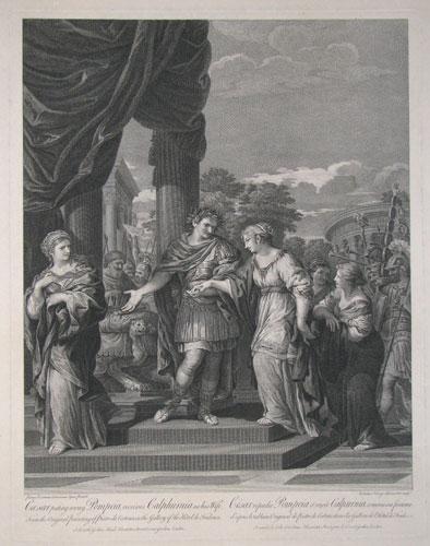 Premonició de Calpúrnia a Juli Cèsar sobre la seva mort