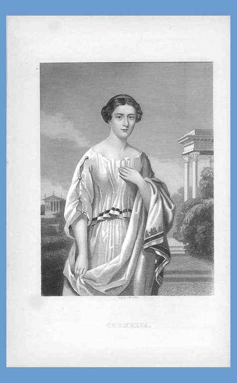 Retrat de Cornèlia pintat per J. Mc Goffin (1879)