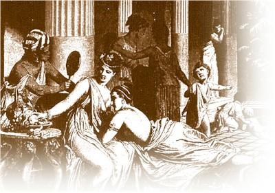 """Júlia anomenada """"La viuda alegre de Roma"""" a una orgia"""