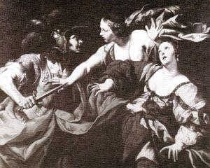 Nero attacking Octavia (baja)