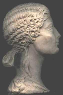 Bust de Vipsània Agripina, on es plasma la finura d'aquesta