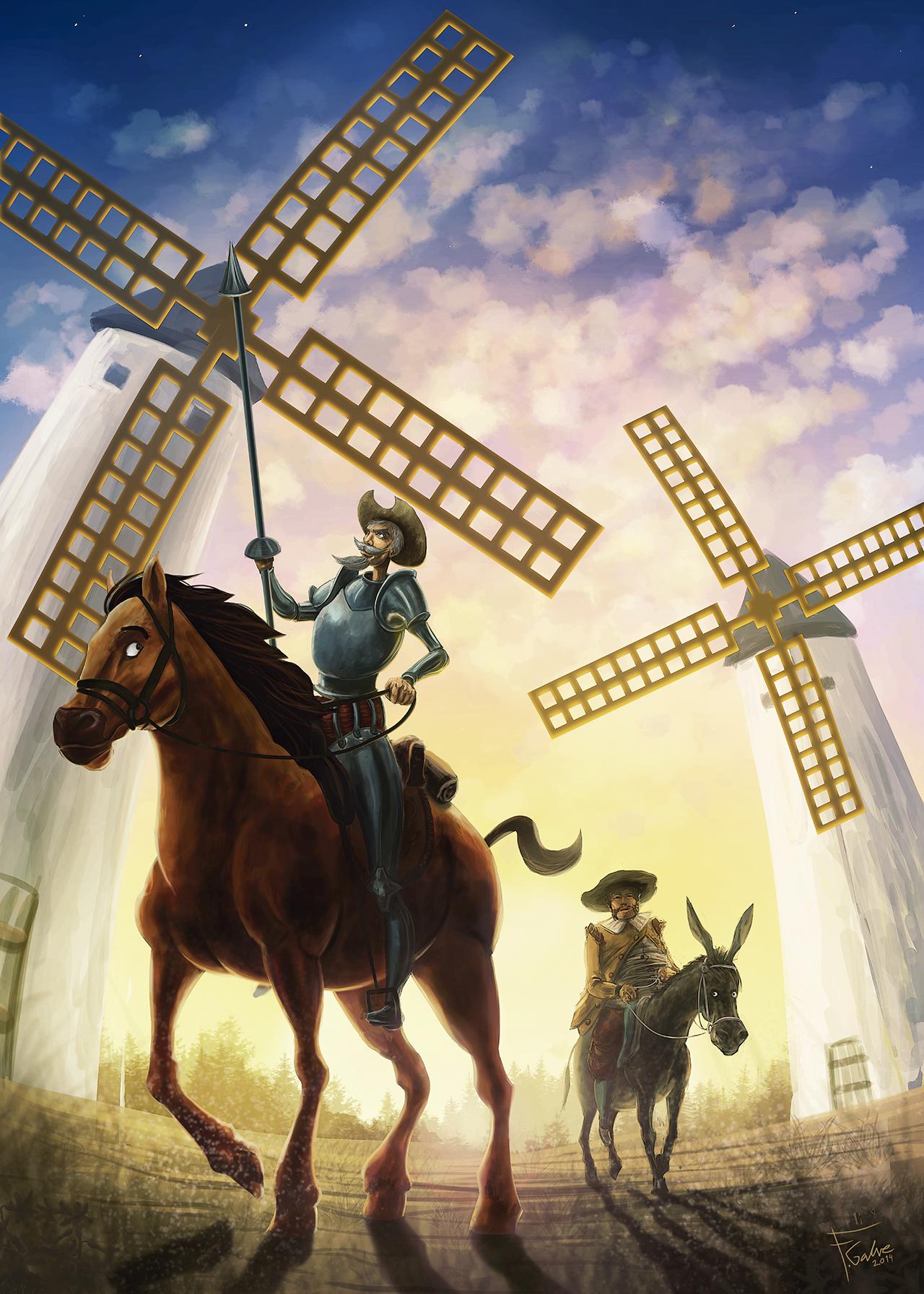 El Quijote en imágenes comentadas | Plasmaciones del