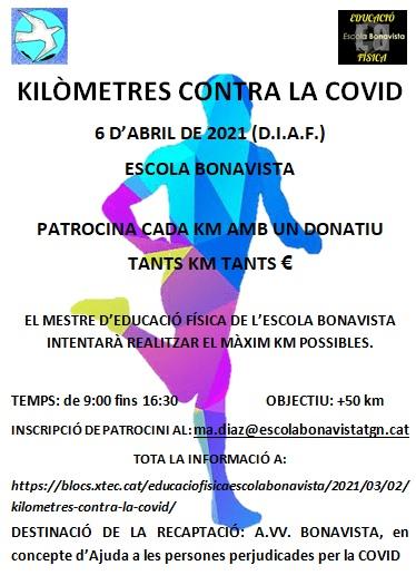 KILÒMETRES CONTRA LA COVID