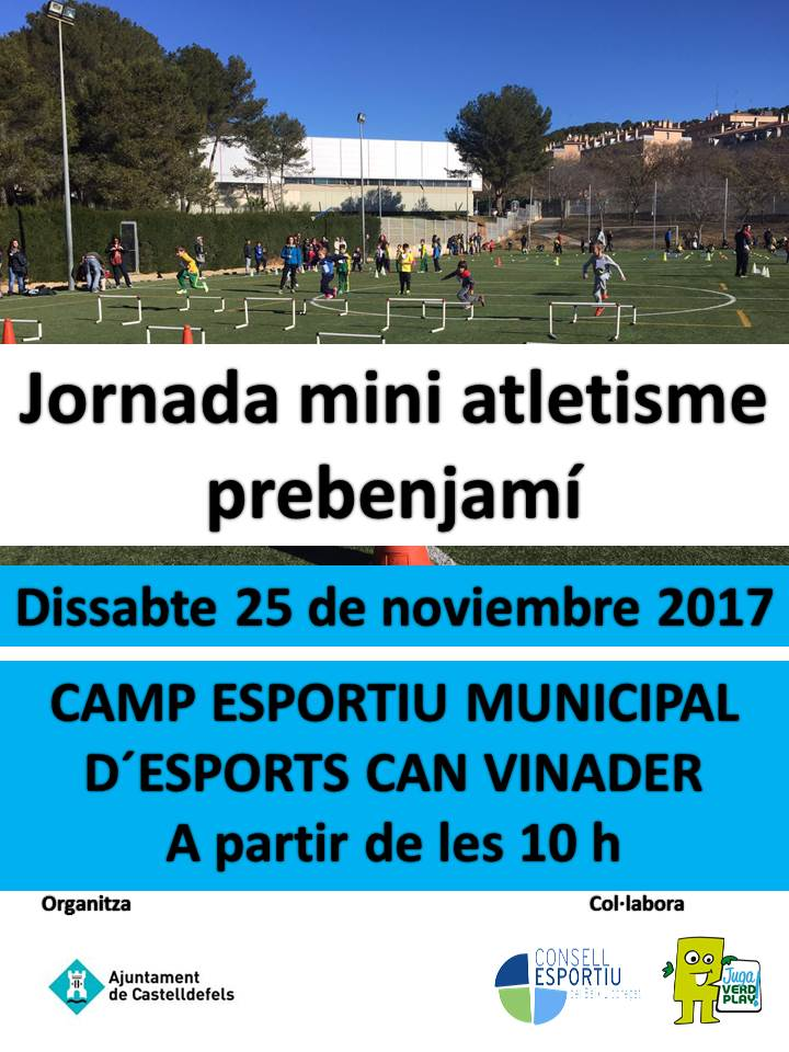 Cartell Mini atletisme