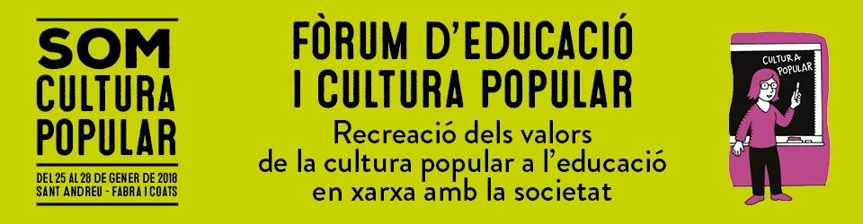 Fòrum d'Educació i Cultura Popular