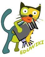 Logo activitat l'Eduwiki i la imatge