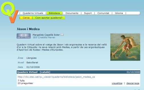 biblioteca quaderns virtuals