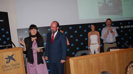 Margalida Capellà premi Edublogs 2008 Professors i professores