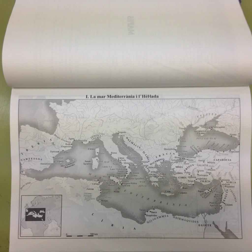 Etimologia i Mapes