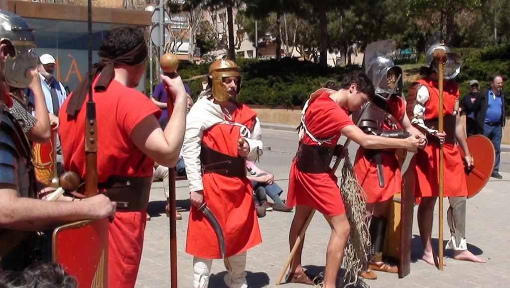 Arnau i gladiadors Barcino Oriens