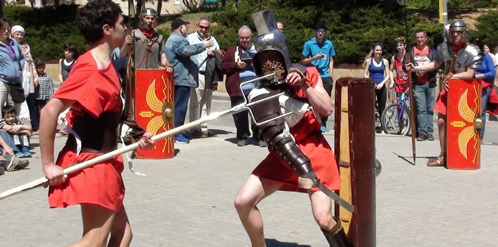 L' Arnau lluitant