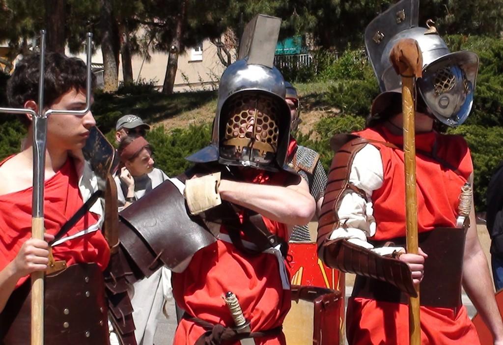 El debut de l'Arnau  com a gladiador