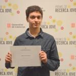 Arnau Lario Devesa, premiat PRJ 2015
