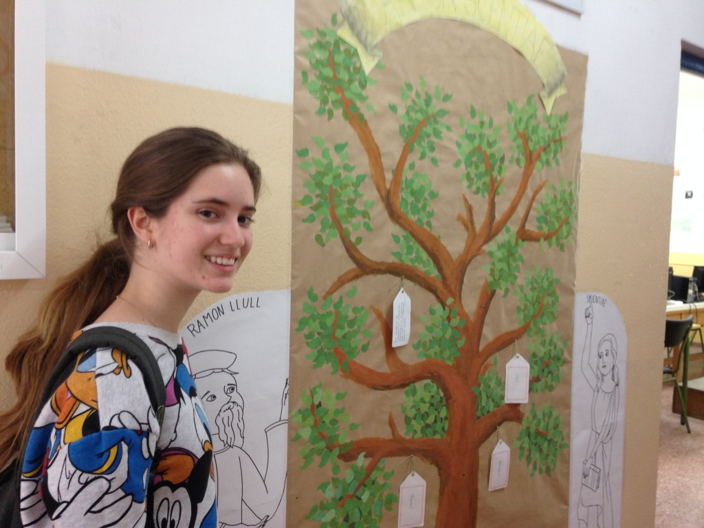 Carla Camara, alumna de 4t de Llat� IPM