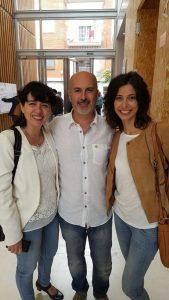 @AracneFil (El Fil de les Clàssiques), @agamador (culturaclasica.com), @txellblay (APLEC) Fotografia de @GuillemCintas