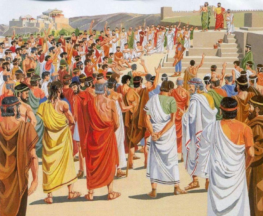 Una assemblea grega