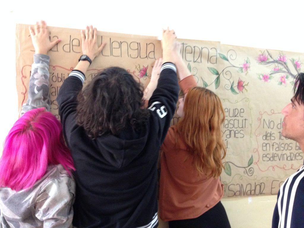 Els alumnes de Clàssiques celebren el Dia de la Llengua Materna a l'IPM