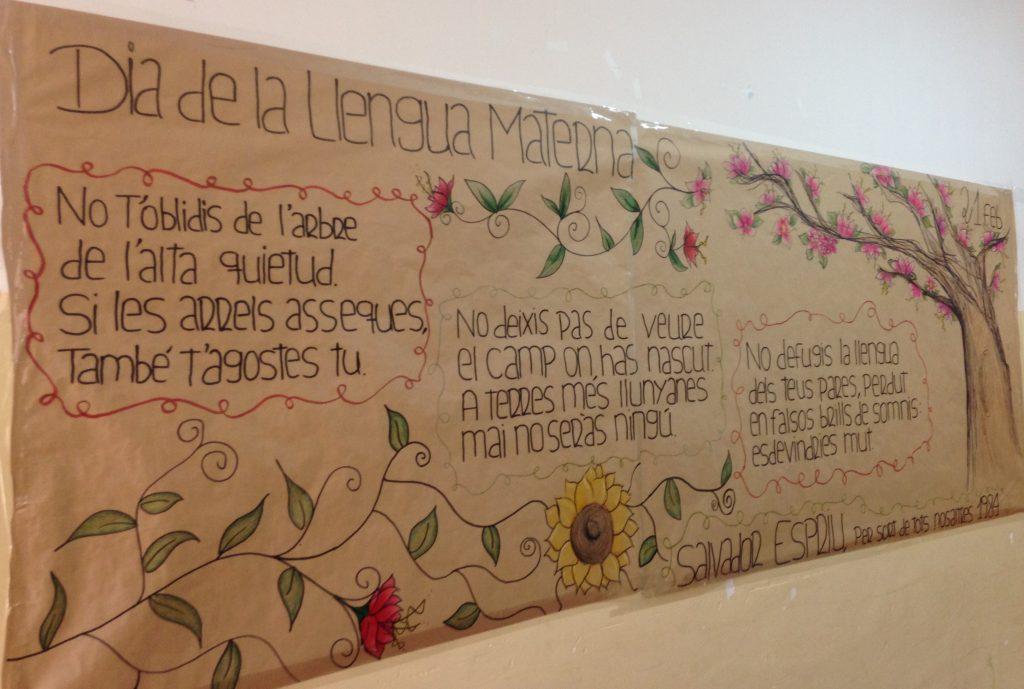 21 de febrer, Dia de la Llengua Materna a l'institut Premià de Mar