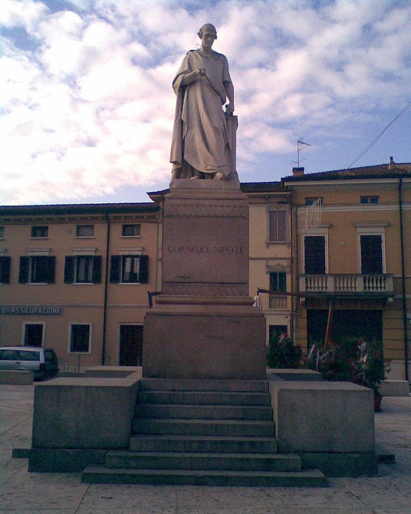 Corneli Nepos a Ostiglia, Itàlia