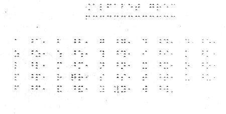 Alfabet grec en Braille, escrit per Víctor