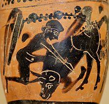 Hèracles i el brau de Creta. Museu del Louvre