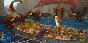 Ulisses i les Sirenes, de John William Waterhouse