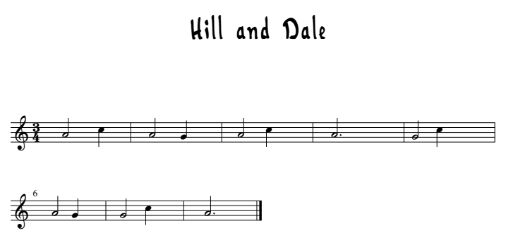 hill-and-dale