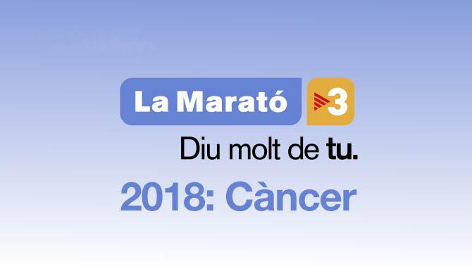 La Marató 2018. Diu molt de tu