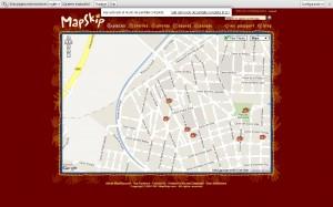 """Mapskip sobre """"El nostre barri canvia"""""""