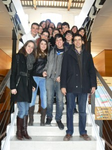 Alumnes IES Pere Vives al Projecte Neptú 2012