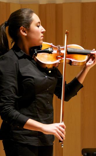 Judit Tió és alumna de 5è curs de Grau Professional