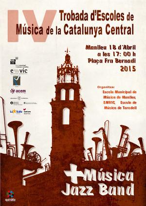 Manlleu organitza el +Música 2015