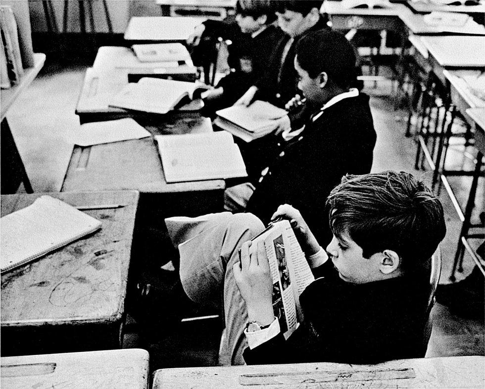 Nueva York. 23 de abril de 1969. © André Kertész