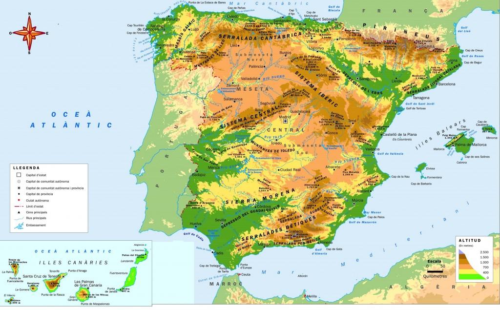 mapa-físic-dEspanya