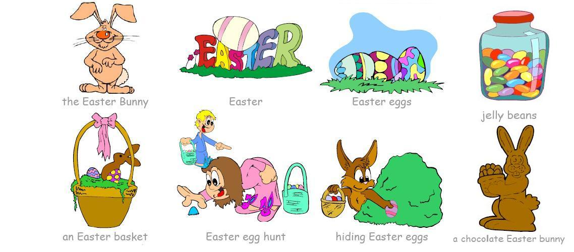 EASTER VOCABULARY 2ND LEVEL