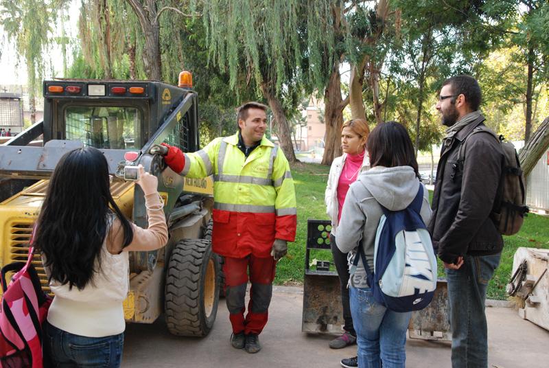 Lluís Sabadell Artiga EN RESiDÈNCiA a l'IES Collserola