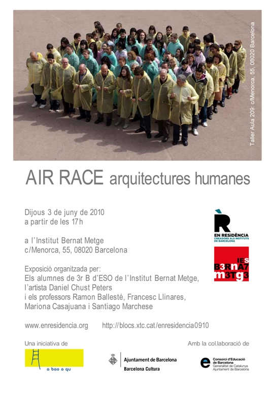Invitació exposició d'Air race