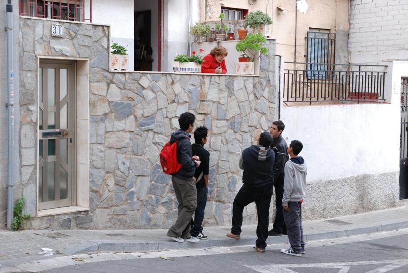 entrevista a gent del barri