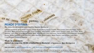 Cartell PEIXOS D'ESTIMA