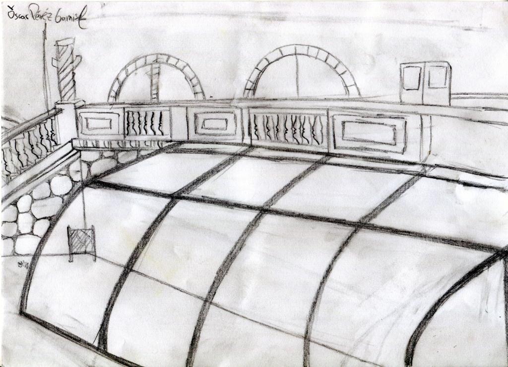 Dibuix d'Oscar Pérez