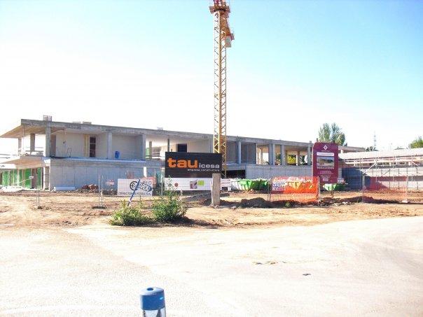 Comencen a construir la nova escola