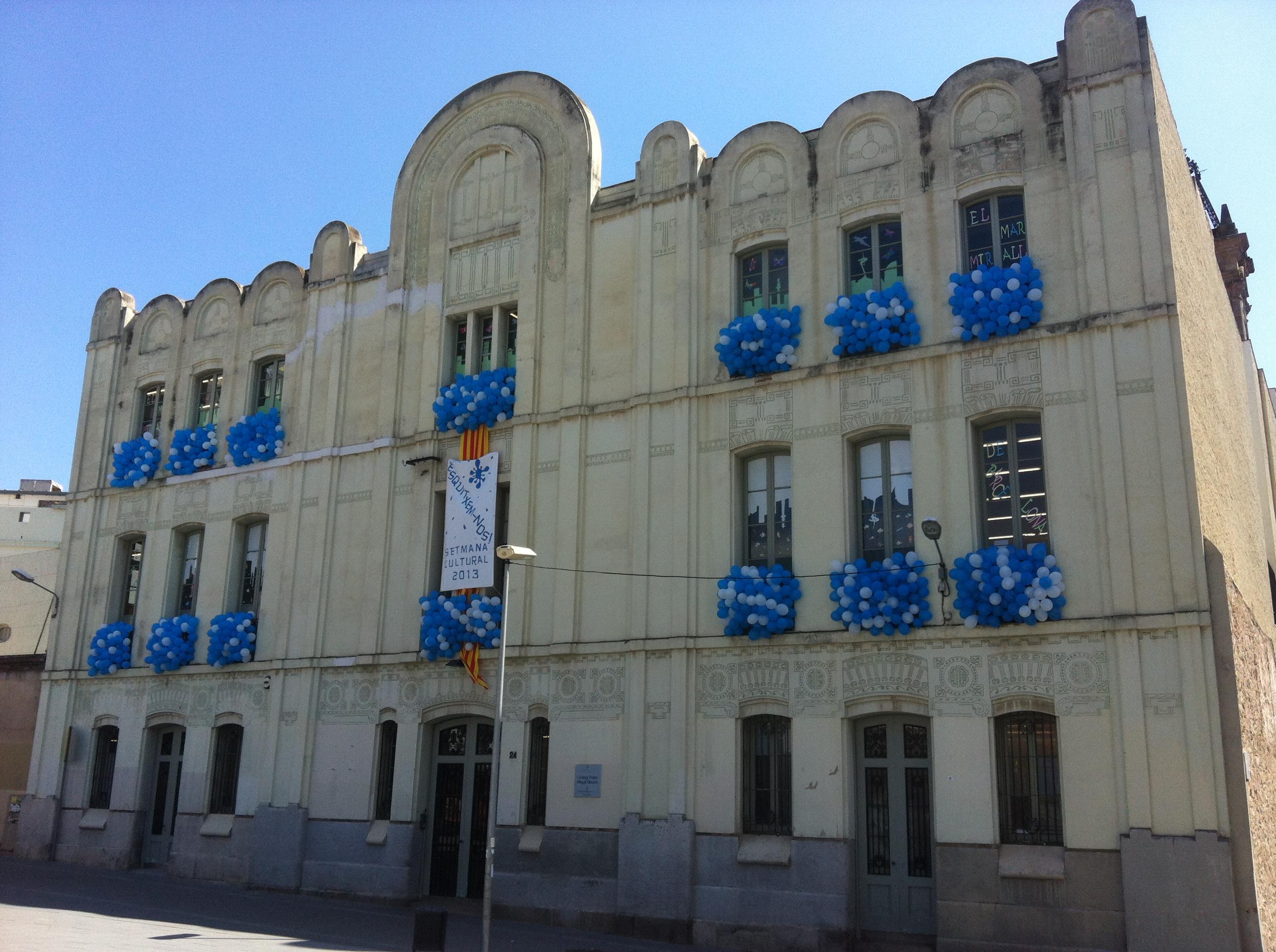 façana escola